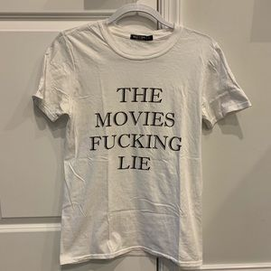 THE MOVIES LIE TEE